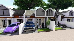Rumah Type 36 De ROyal Eden